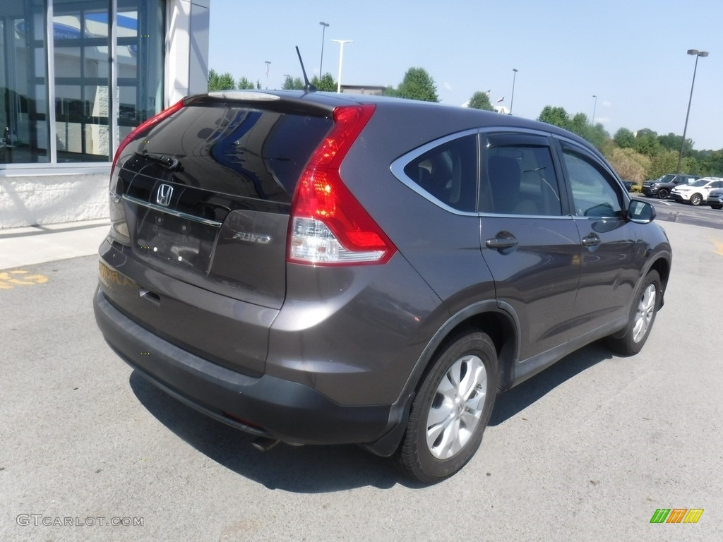 2012 CR-V EX 4WD - Urban Titanium Metallic / Beige photo #10