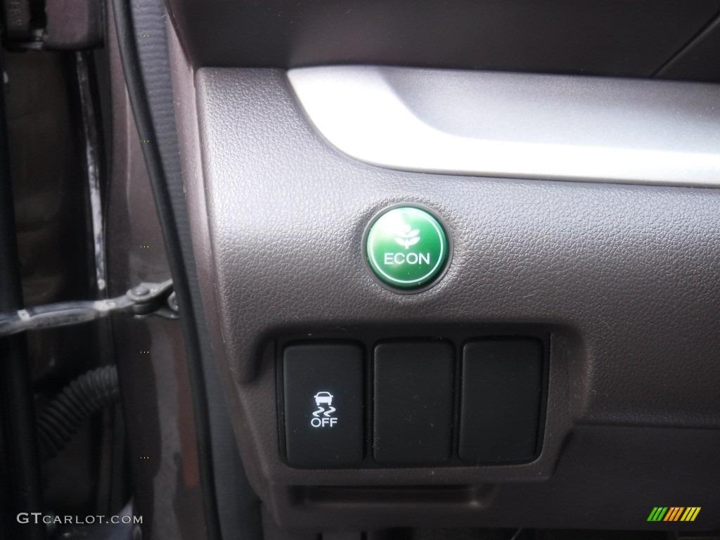 2012 CR-V EX 4WD - Urban Titanium Metallic / Beige photo #15