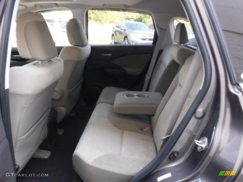 2012 CR-V EX 4WD - Urban Titanium Metallic / Beige photo #24