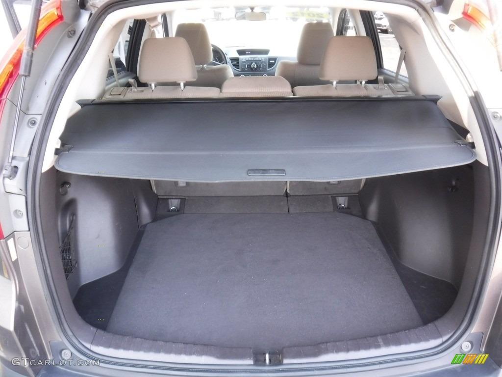 2012 CR-V EX 4WD - Urban Titanium Metallic / Beige photo #25