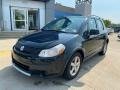 Black Pearl Metallic 2009 Suzuki SX4 Crossover Technology AWD