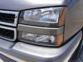 2006 Graystone Metallic Chevrolet Silverado 1500 LT Crew Cab 4x4  photo #10