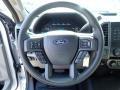 2020 Ford F250 Super Duty Medium Earth Gray Interior Steering Wheel Photo