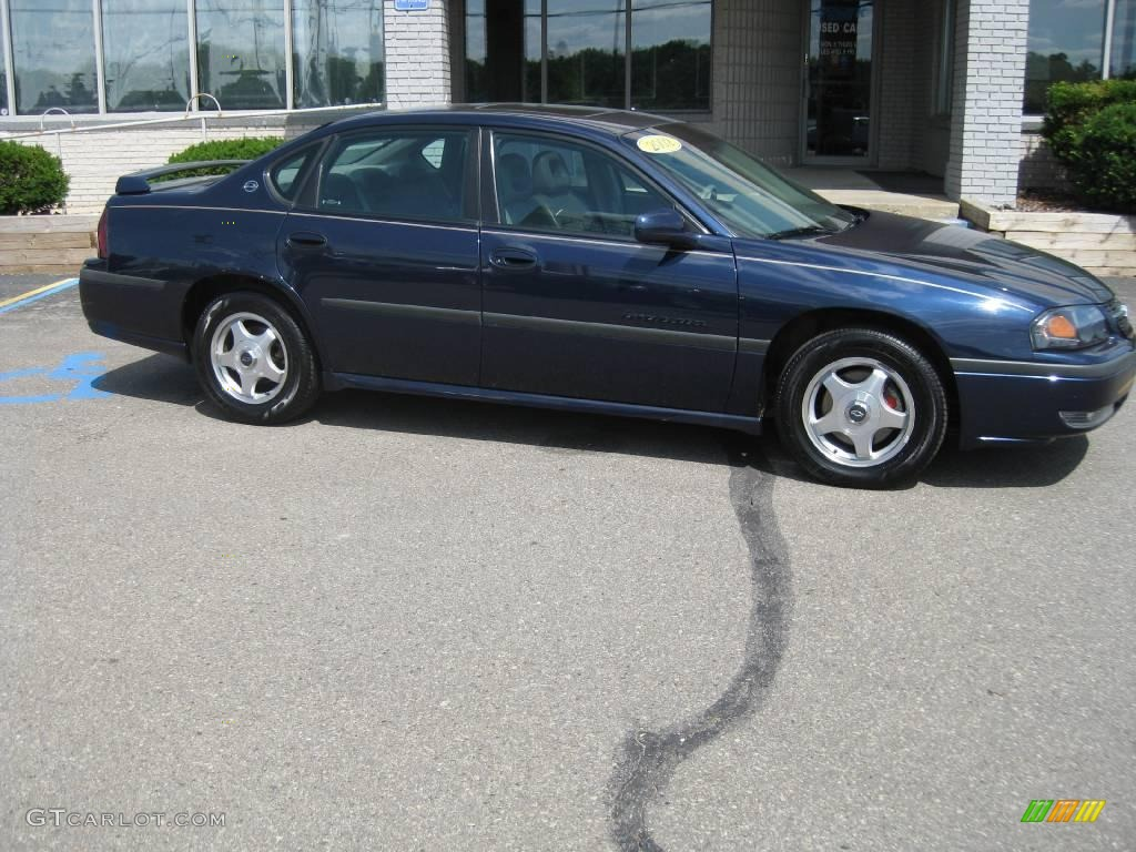 2002 navy blue metallic chevrolet impala ls 13941579. Cars Review. Best American Auto & Cars Review