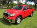 2007 Radiant Red Toyota Tundra SR5 Regular Cab #139517651