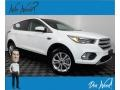 2019 Oxford White Ford Escape SE 4WD #139558252