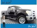 2011 Tuxedo Black Metallic Ford F250 Super Duty XLT SuperCab 4x4 #139558251