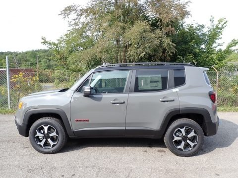 2020 Jeep Renegade Trailhawk 4x4 Data, Info and Specs