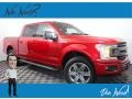 2018 Race Red Ford F150 XLT SuperCrew 4x4  photo #1