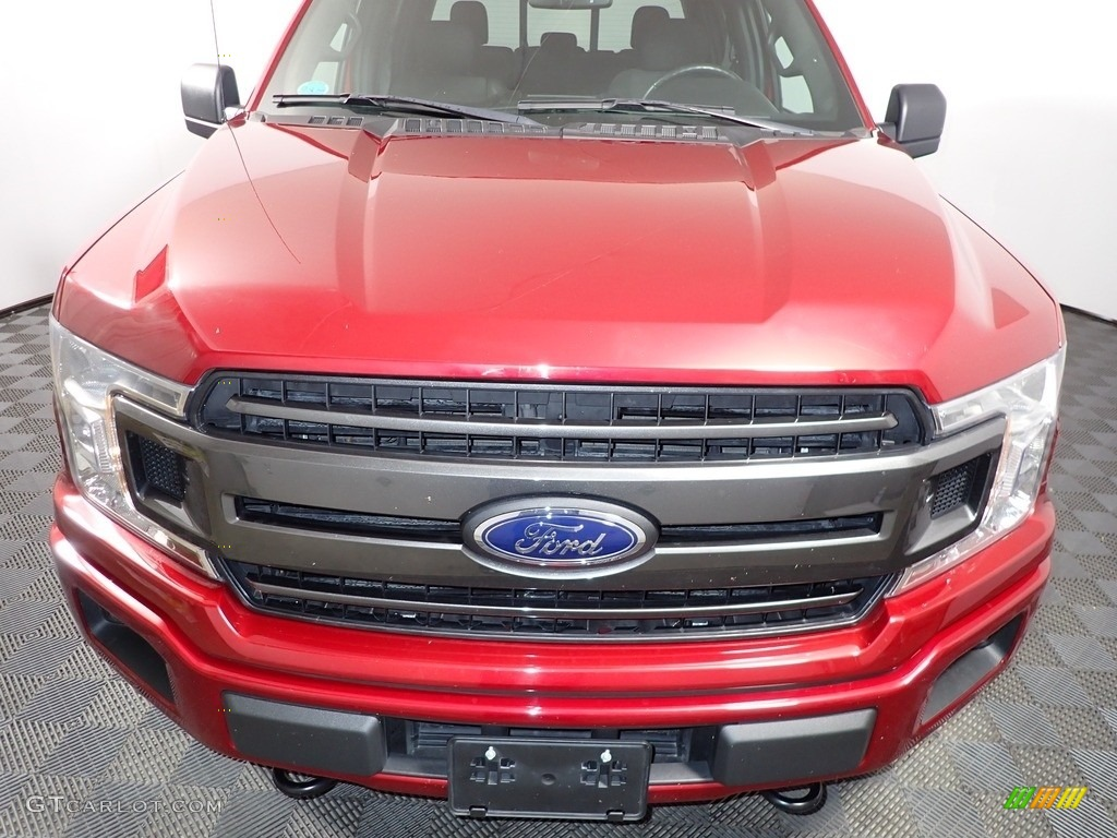 2018 F150 XLT SuperCrew 4x4 - Race Red / Black photo #4