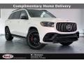 designo Diamond White Metallic 2021 Mercedes-Benz GLS 63 AMG 4Matic