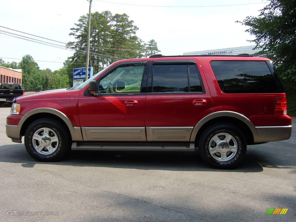 2004 redfire metallic ford expedition eddie bauer 4x4. Black Bedroom Furniture Sets. Home Design Ideas