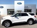 2020 Oxford White Ford Explorer XLT 4WD #139646654