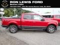 2020 Rapid Red Ford F150 XLT SuperCrew 4x4  photo #1