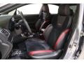 Carbon Black Front Seat Photo for 2018 Subaru WRX #139657398