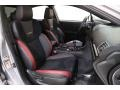 Carbon Black Front Seat Photo for 2018 Subaru WRX #139657507