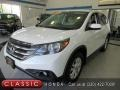 2012 White Diamond Pearl Honda CR-V EX 4WD #139667594