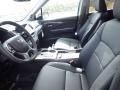 2021 Honda Pilot Black Interior Front Seat Photo