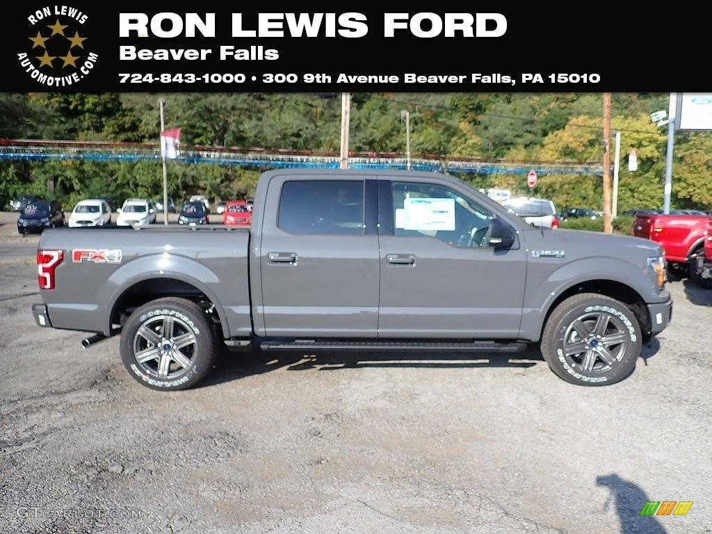 2020 F150 XLT SuperCrew 4x4 - Lead Foot / Black photo #1