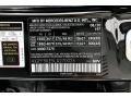 2020 GLS 450 4Matic Obsidian Black Metallic Color Code 197