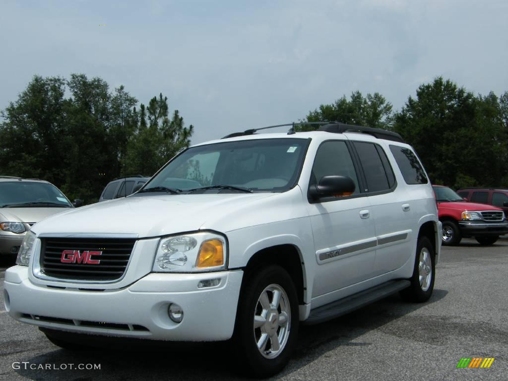 2004 summit white gmc envoy xl slt 13934429 gtcarlot. Black Bedroom Furniture Sets. Home Design Ideas