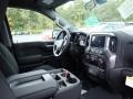 Jet Black Dashboard Photo for 2021 Chevrolet Silverado 1500 #139688917