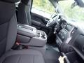 Jet Black Front Seat Photo for 2021 Chevrolet Silverado 1500 #139689568