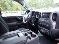 Jet Black Dashboard Photo for 2021 Chevrolet Silverado 1500 #139689583