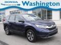 2017 Obsidian Blue Pearl Honda CR-V LX AWD #139692002