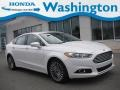 2015 Oxford White Ford Fusion Titanium #139691998