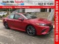 Supersonic Red 2020 Toyota Camry SE