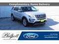 2016 Ingot Silver Metallic Ford Explorer Limited  photo #1