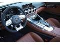 2020 AMG GT C Roadster Saddle Brown Interior