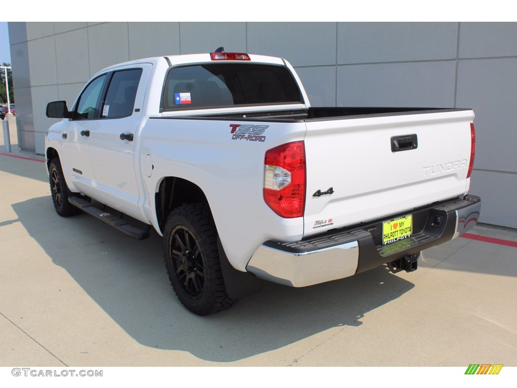 2021 Tundra SR5 CrewMax 4x4 - Super White / Graphite photo #6