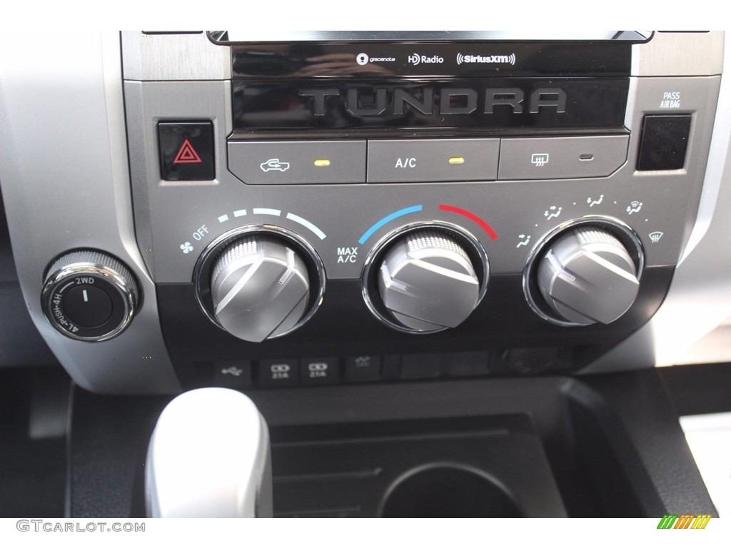 2021 Tundra SR5 CrewMax 4x4 - Super White / Graphite photo #17