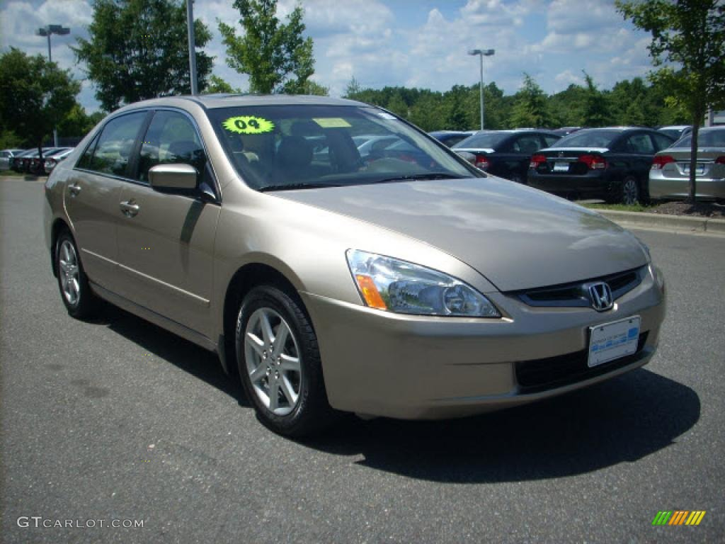 2004 desert mist metallic honda accord ex v6 sedan. Black Bedroom Furniture Sets. Home Design Ideas
