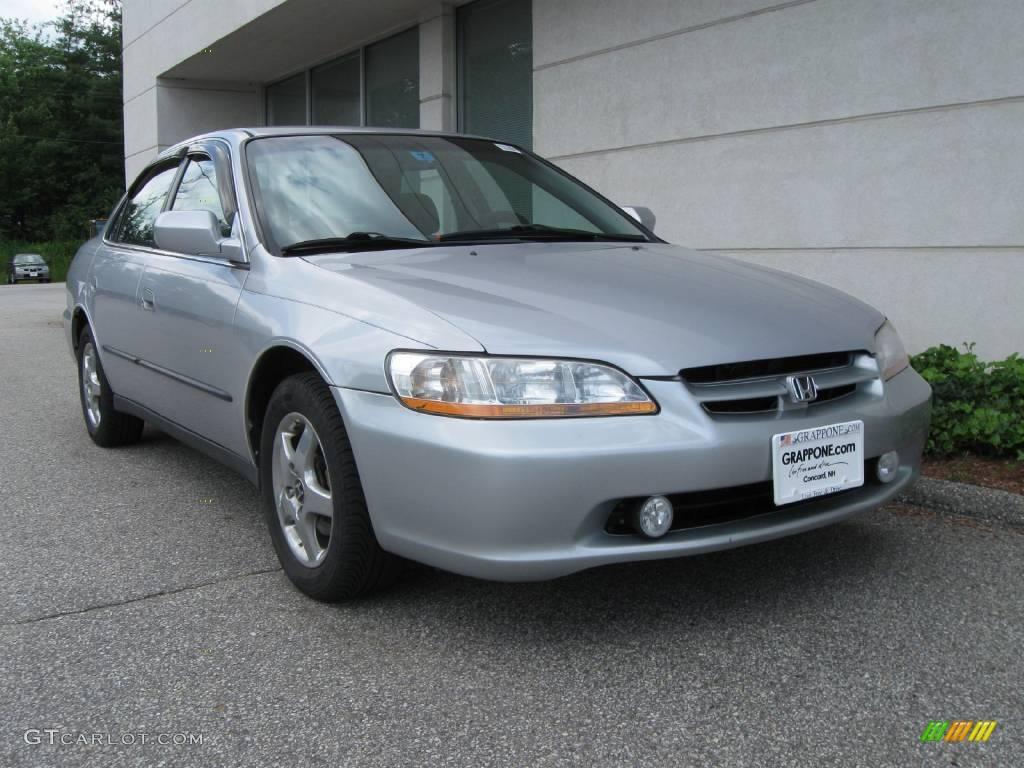 2000 Satin Silver Metallic Honda Accord Lx Sedan 13892941