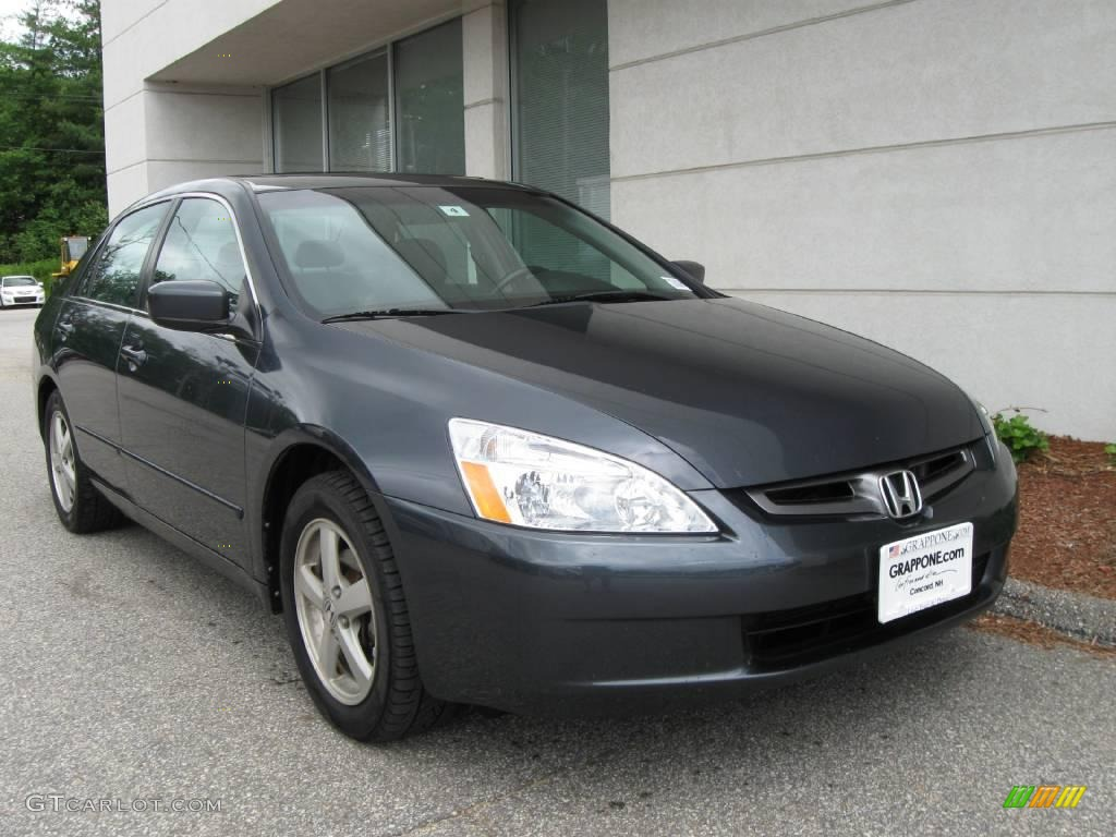 Graphite pearl honda accord honda accord ex l sedan