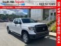 2021 Super White Toyota Tundra SR Double Cab 4x4  photo #1