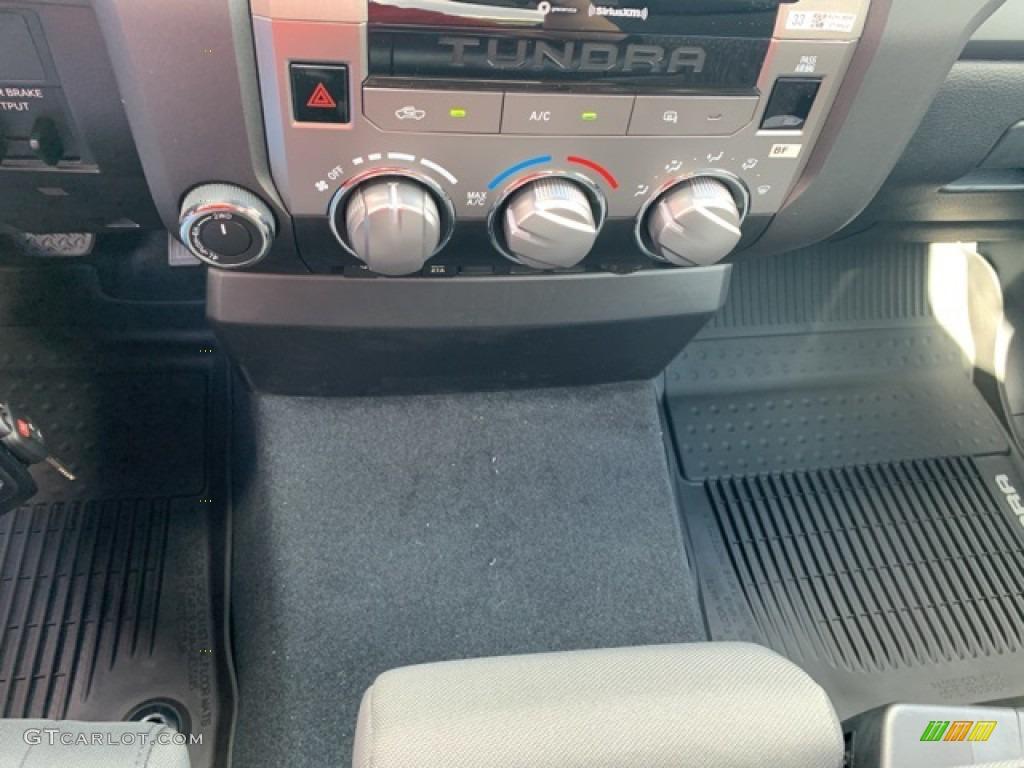 2021 Tundra SR Double Cab 4x4 - Super White / Graphite photo #19