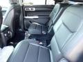 2020 Ford Explorer Ebony Interior Rear Seat Photo
