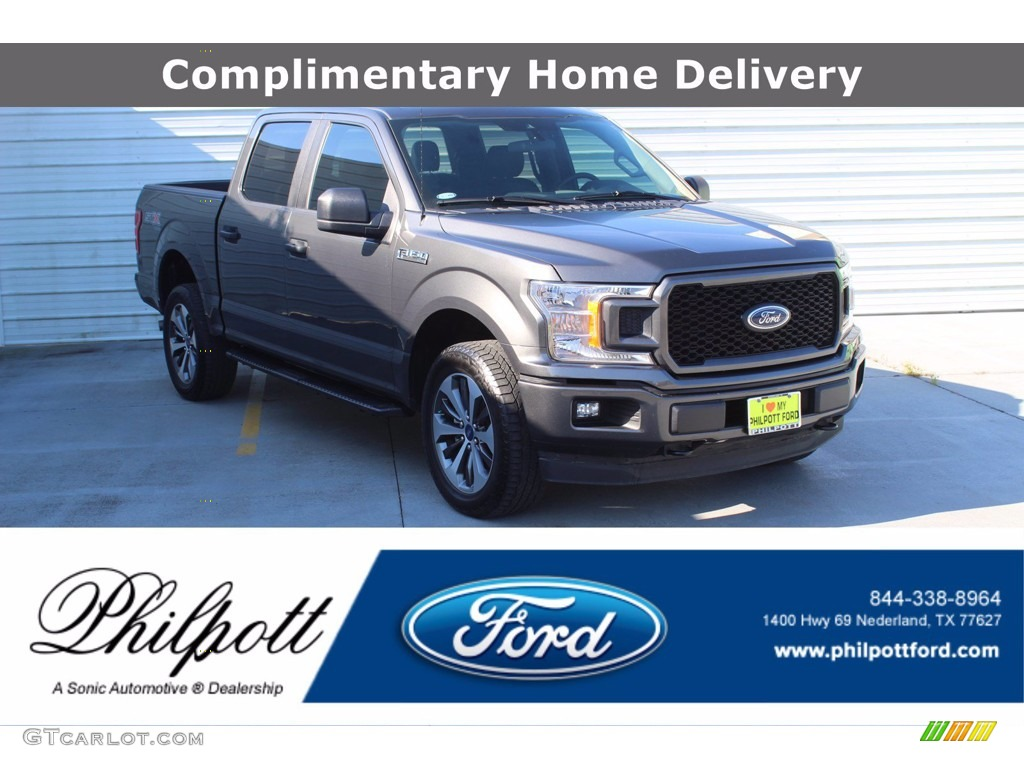 2019 F150 STX SuperCrew 4x4 - Magnetic / Earth Gray photo #1