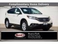 2014 White Diamond Pearl Honda CR-V EX-L  photo #1