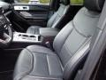 Ebony Front Seat Photo for 2020 Ford Explorer #139842050