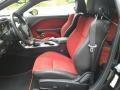 2020 Dodge Challenger Black/Ruby Red Interior Interior Photo