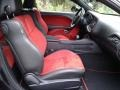 2020 Dodge Challenger Black/Ruby Red Interior Front Seat Photo