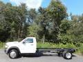 Bright White 2020 Ram 5500 Tradesman Regular Cab 4x4 Chassis