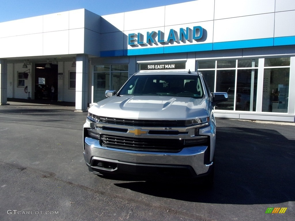 2020 Silverado 1500 LT Crew Cab 4x4 - Silver Ice Metallic / Jet Black photo #1