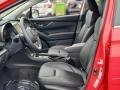 Black Front Seat Photo for 2020 Subaru Crosstrek #139854395