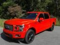 2020 Race Red Ford F150 Lariat SuperCrew 4x4  photo #2